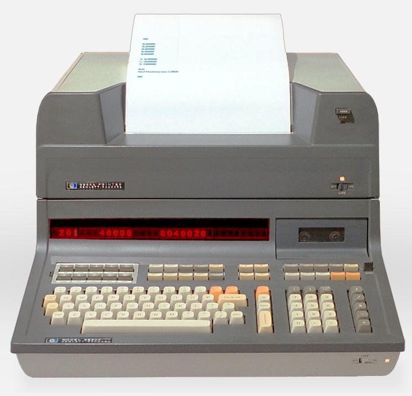 Den første utgaven av Star Fleet ble laget på en datamaskin som dette. Tenk deg å spille spill på noe slikt.