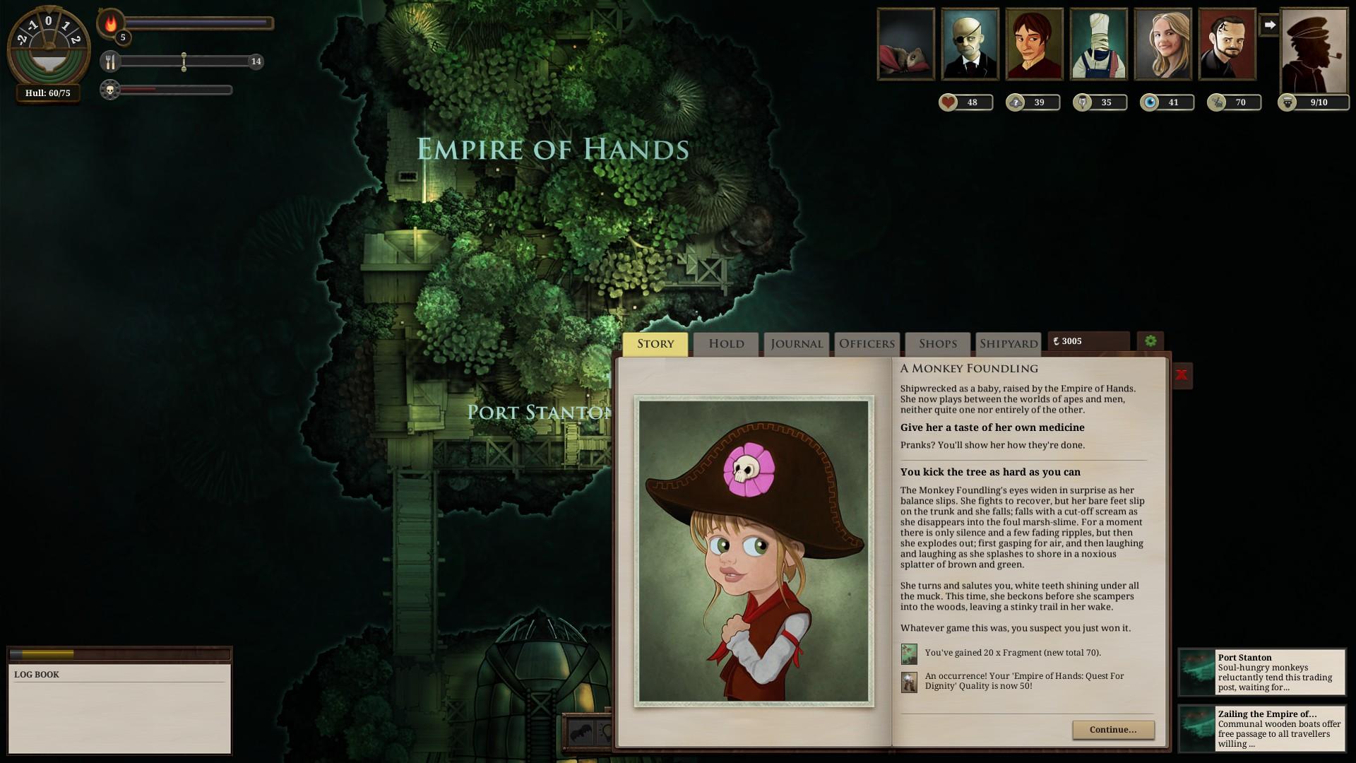 Spillet er fullt av Lovecraft-aktig guffe. Men det har også mye humor og mange morsomme sekvenser.
