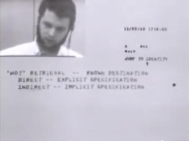 Videokonferanse anno 1968.