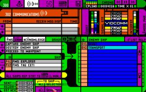 Dette presenterer manualen som spillets enkleste menyskjerm.