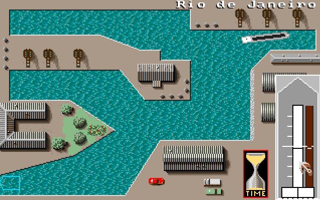 Jeg tipper de fleste som har eid Amiga klarte å gjenkjenne Ports of Call, et artig handelsspill der du måtte styre skipene til kai selv. Rio de Janeiro-havnen var et mareritt.