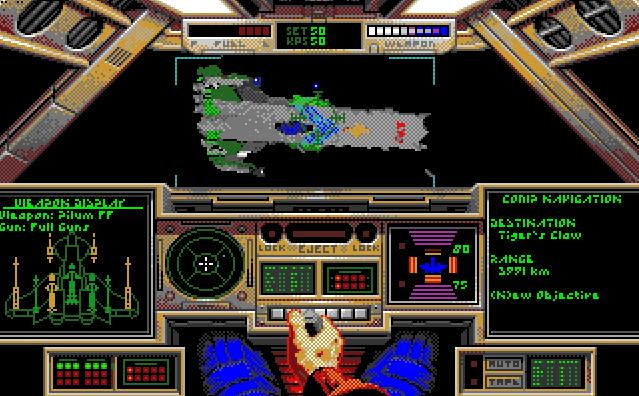 Star Citizens forfar, Wing Commander, er nok et av konkurransens letteste spill. Herlig rom-action, som kanskje er best på PC. Jeg foretrekker Amiga-versjonen, på grunn av musikken.