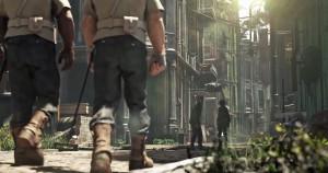 Bilde fra Dishonored 2-traileren.