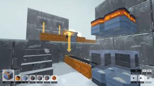 Spillet foregår i mange soner, hver med egen grafikk og musikk.