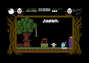 Dizzy for Commodore 64.