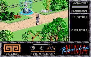 Ninja Remix på Amiga.