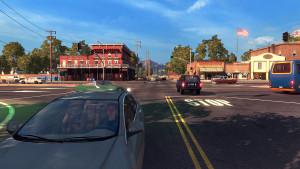 American Truck Simulator foregår i California.