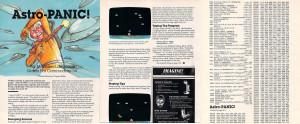 Her er artikkelen om Astro Panic, samt første del av spillkoden. Resten finner du i bladet, hvis du vil skrive den inn... alternativt kan du laste ned 75 Spill-versjonen.