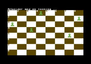 Tilbake til sjakkbrettet.