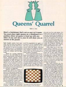 Artikkelen om spillet fra Compute!s Gazette.