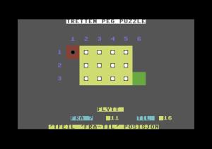 Tretten Peg Puzzle. Jeg har spilt bedre spill.