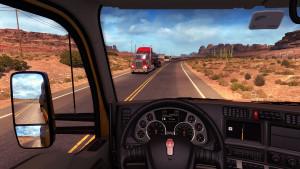 American Truck Simulator.
