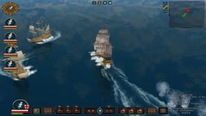 Spillet er inspirert av Sid Meier's Pirates!