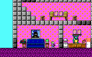 Mario Bros. 3-klonen utviklet seg til Commander Keen.