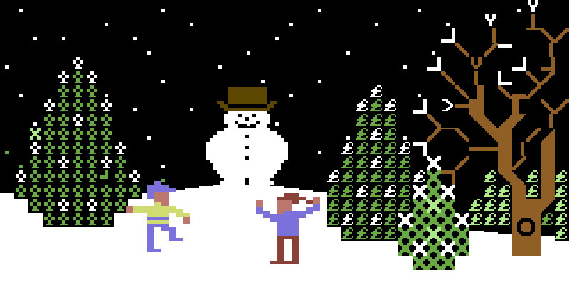 Commodore Christmas Demo