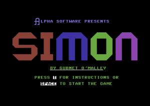 Spillet er usikkert på om det heter Ditto eller Simon.