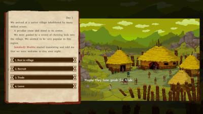 The Curious Expedition er ett av spillene som det går an å skaffe seg en DRM-fri, tidlig tilgang til.