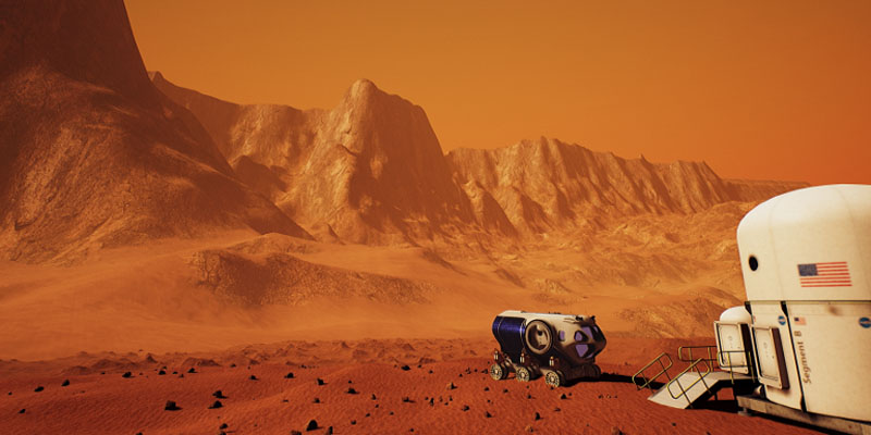 Mars 2030 Experience