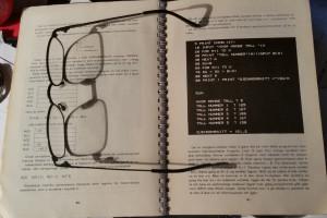 Jeg studerer manualen.