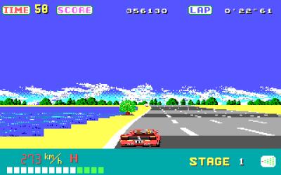 PC-versjonen i EGA-modus.