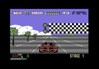 Commodore 64-versjonen.