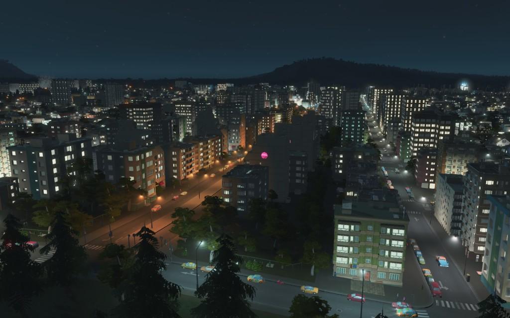 Jeg liker rette gater.