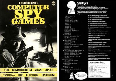 Det enkleste spillet i Computer Spy Games. Merk utfordringen i bunnen.