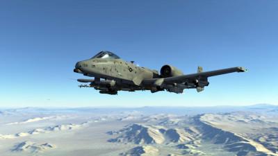 Her har vi en A-10 Warthog.
