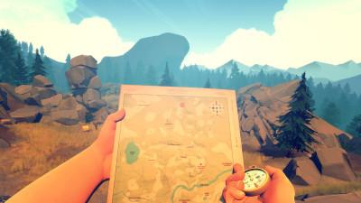 Kart og kompass.