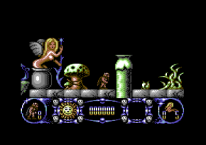 Stormlord på Commodore 64. Hm.