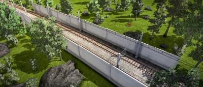 Du kan også dekorere jernbanene.