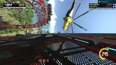 Det nye Rollercoaster Lagoon-miljøet byr på sprø baner som dette.