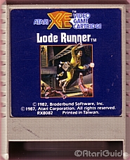Chuck programmerte Loderunner til Atari XE! Bilde: Atari Guide