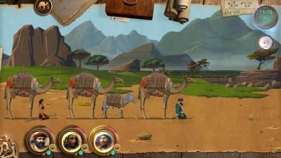Min kamel er lastet med ...