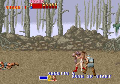 En kombo avsluttes gjerne med at du kaster fienden avsted (og blir angrepet bakfra, men det er en annen sak).