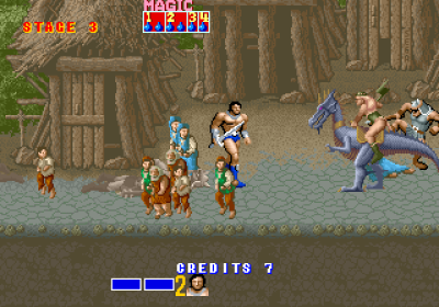 Golden Axe.