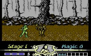 Commodore 64-versjonen er ikke direkte pen.