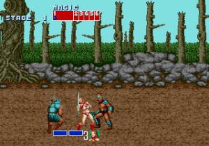 Versjonen for Sega Mega Drive.