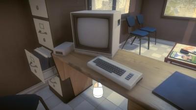 En VIC-20? Spillet foregår før PC-en ble allemannseie.