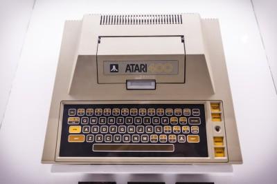 Klassisk Atari-maskin.