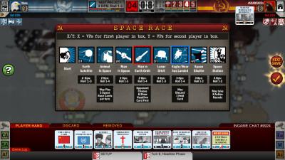 Originaldesignerne har hjulpet med å utvide romkappløpet for den digitale versjonen.