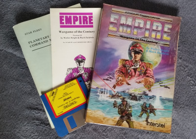 Empire: Wargame of the Century for Amiga.
