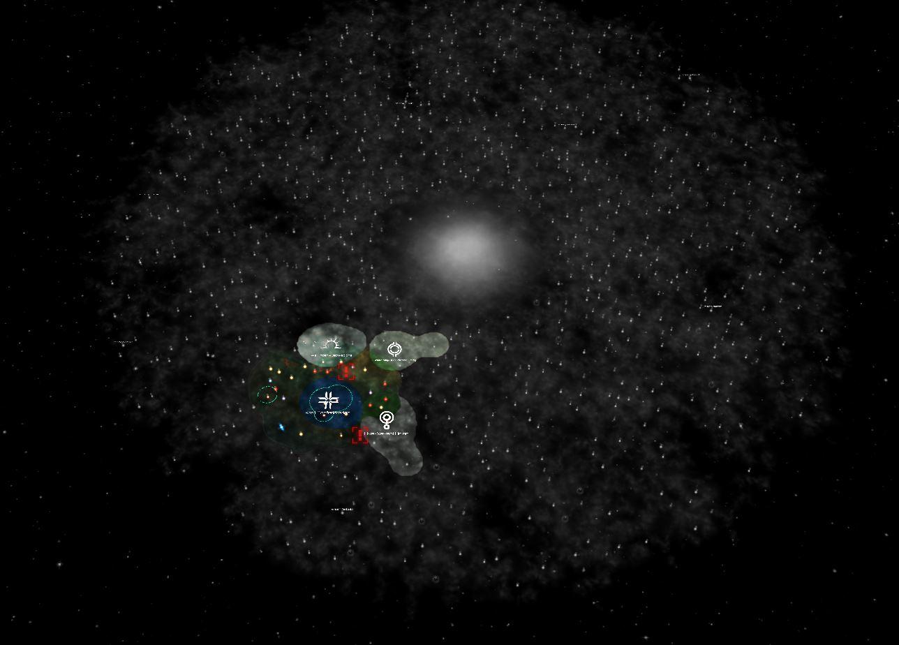 Galaksen som helhet, slik den var utforsket i 2211.
