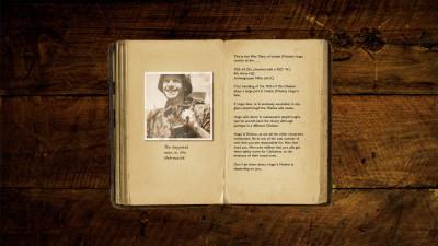 Underveis kan du lese dagbøkene til folk du kommanderer.