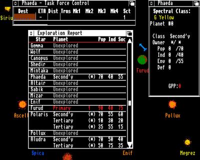 Grensesnittet på Amiga var mer brukervennlig enn tidlige versjoner, men det får nok fortsatt moderne gamere til å løpe unna i panikk.