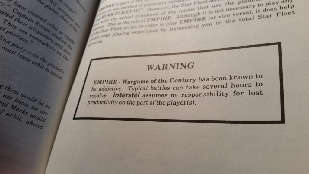 Greit med en advarsel.
