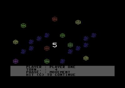 SSGs første spill ble Reach for the Stars, her på Commodore 64.