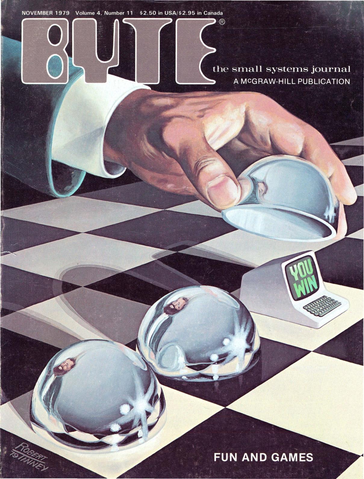 November 1979. Malt av Robert Tinney. Dette nummeret er dedikert til spill og spillteori – hvordan man kan programmere datamaskiner til å spille ulike spill, for eksempel. Bladet inneholder også instruksjoner om hvordan man kan lage et romspill.