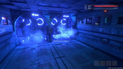 Det første rommet i spillet.