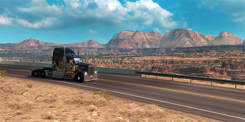 American Truck Simulator Arizona 2